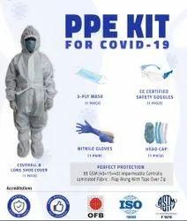 Non Woven Fabric Disposable PPE Kit