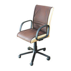 Leather Conference Room Rotatable Chair