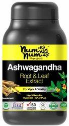 Ashwagandha Extract Capsule, Grade Standard: Medicine Grade, 120 Veg Capsules