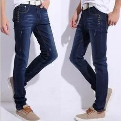 Slim Fit Casual Wear Branded Men's Non Stretch Jeans