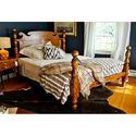 Antique Wooden Double Bed, Size: 76 X 82 Inch