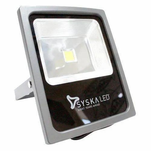 50w To 250w Syska LED Floodlight For Outdoor, Model: Flood ...