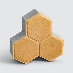 Godrej TUFF 80 mm Trihex Concrete Pavers