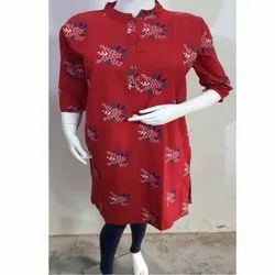 Ladies Casual Printed Kurtis