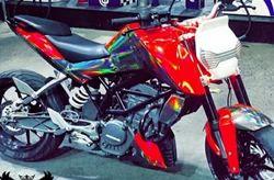 3d Bike Stickers