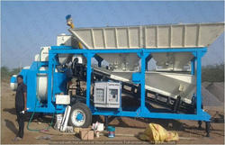 AASPA ASPA-12 Mobile Concrete Batching Plant, For In Construction Industry, Model/Type: Aem