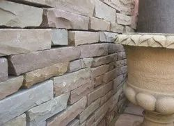 Multicolor Walling Sandstone For Making Wall