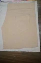 Cotton Trouser Fabric, Plain/Solids, Brown
