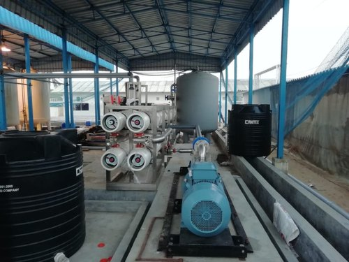 Btech Aqua Mild Steel (Powder Coated) Sea Water RO System, RO Capacity: 2000-3000 (Liter/hour)