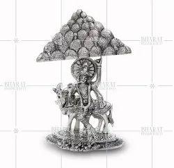 Silver Plated Govardhan Parvat Krishna