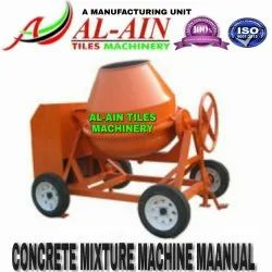 Cement Concrete Mixer Machine For Paver Block