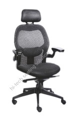High Back Black Mesh Chair