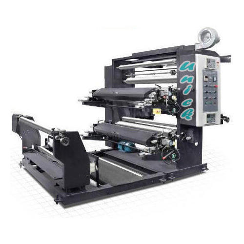 Unick Industries Two Colour Non Woven Bag Flexo Printing Machine