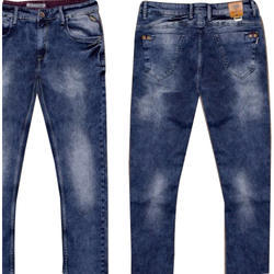 Faded Available in many color Men's Blue Casual Jeans