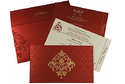 Red Wedding Cards