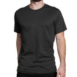 3b80d2a6838 Mens Plain T-Shirts - Mens Round Neck T-Shirt Manufacturer from ...