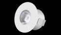 Aluminum 2w Led Cabinet Light, Shape: Round
