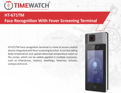 HTFC-671TM Face Attendance Recognition With Fever Screening Terminal
