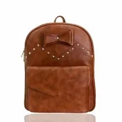Caris Leatherette Backpack