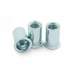 MVD-20-36 Flat Head Round Body Plain Aluminum Rivet Nuts
