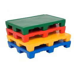 Multi Colour Plastic Pallets