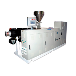 Stainless Steel Automatic Extrusion Line Machines, 0-40, 50-100 kg/hr