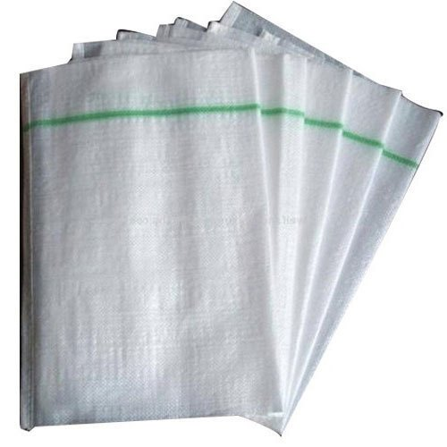 Polypropylene White PP Woven Bags, For Packaging, Packaging Type: Parcel Packing