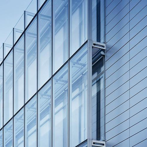 Glass Curtain Wall, For Office, Rs 380 /square Feet, Uttam