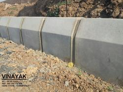Chamfered Design Curb Stone