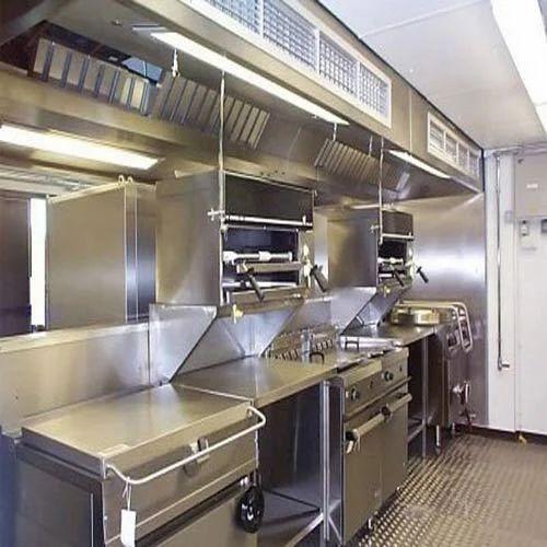 Shree Ambica Stainless Steel Restaurant Modular Kitchen