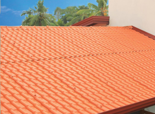 Asbestos Cement Stone Coated Metal Roofing Tile