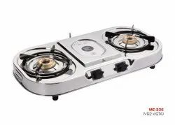 MC-236 Oval Two Burner Stove