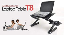 Desk Portable Adjustable Laptop Table Stand