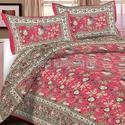 100% Cotton Jaipuri Bed Sheets