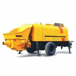 Powerol 35kW Stationary Concrete Pumps, Model Name/Number: 1400p