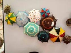 Umbrella Round Iron Wall Handicrafts IHK13008