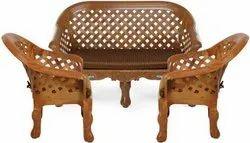 Nilkamal Brown Plastic Luxura Sofa Set