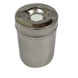 Stainless Steel Hing Packing Dibbi, Capacity: 250 mL