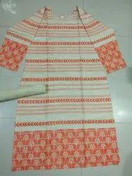Madhunani Printed Khadi Cotton Stitched Kurti
