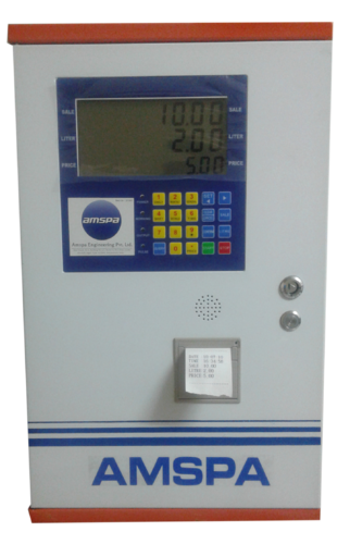 Amspa Diesel Automatic Mobile Dispenser With Ticket, + 0.2%., Model Name/Number: ETP-60DCAUP