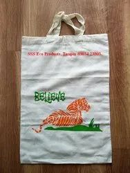 Natural Printed Organic Cotton Eco Friendly Bags