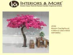 Pink Blossom Tree Big Round, For Decoration