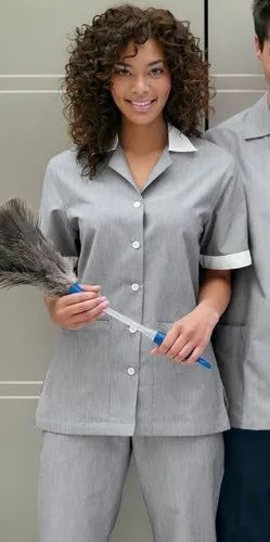 Unisex Housekeeping Uniform for Hotel