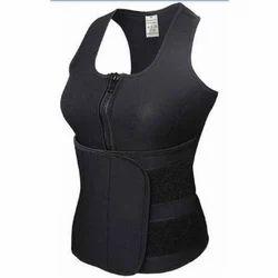 4c395e693852e Ladies Black Sweat Body Shaper Vest
