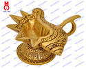 Shankh Design Oil Lamp