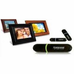 Black Plastic 8 GB Transcend Pen Drive, For Data Storage