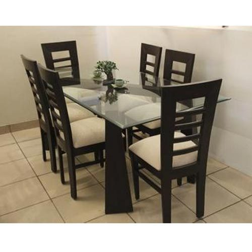 Fancy Dining Table With Six Chairs
