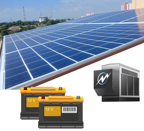 Solar Pv Systems Backup Power Ups Systems: Tata Power Solar Off Grid Solar Power System With Battery