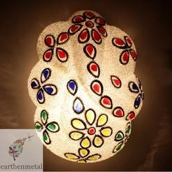 Incandascent Earthen Metal Mosaic Decorated Ganesha Wall Lamp, 50 W- 100 W, For Household, Commercial