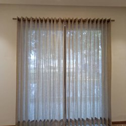 Plain Vertical PVC Curtain Blind